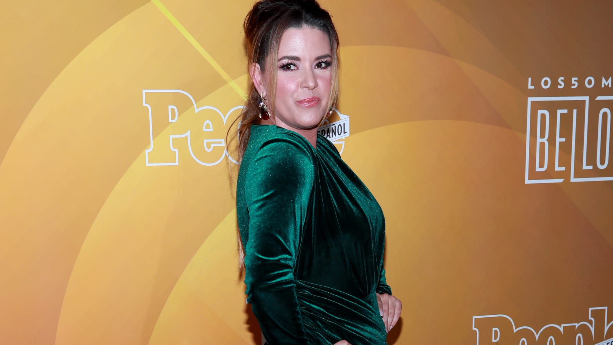 """WEST HOLLYWOOD, CALIFORNIA - MAY 23: Alicia Machado attends People En Español's """"Most Beautiful"""" Celebration at 1 Hotel West Hollywood on May 23, 2019 in West Hollywood, California. (Photo by Rich Fury/Getty Images)"""