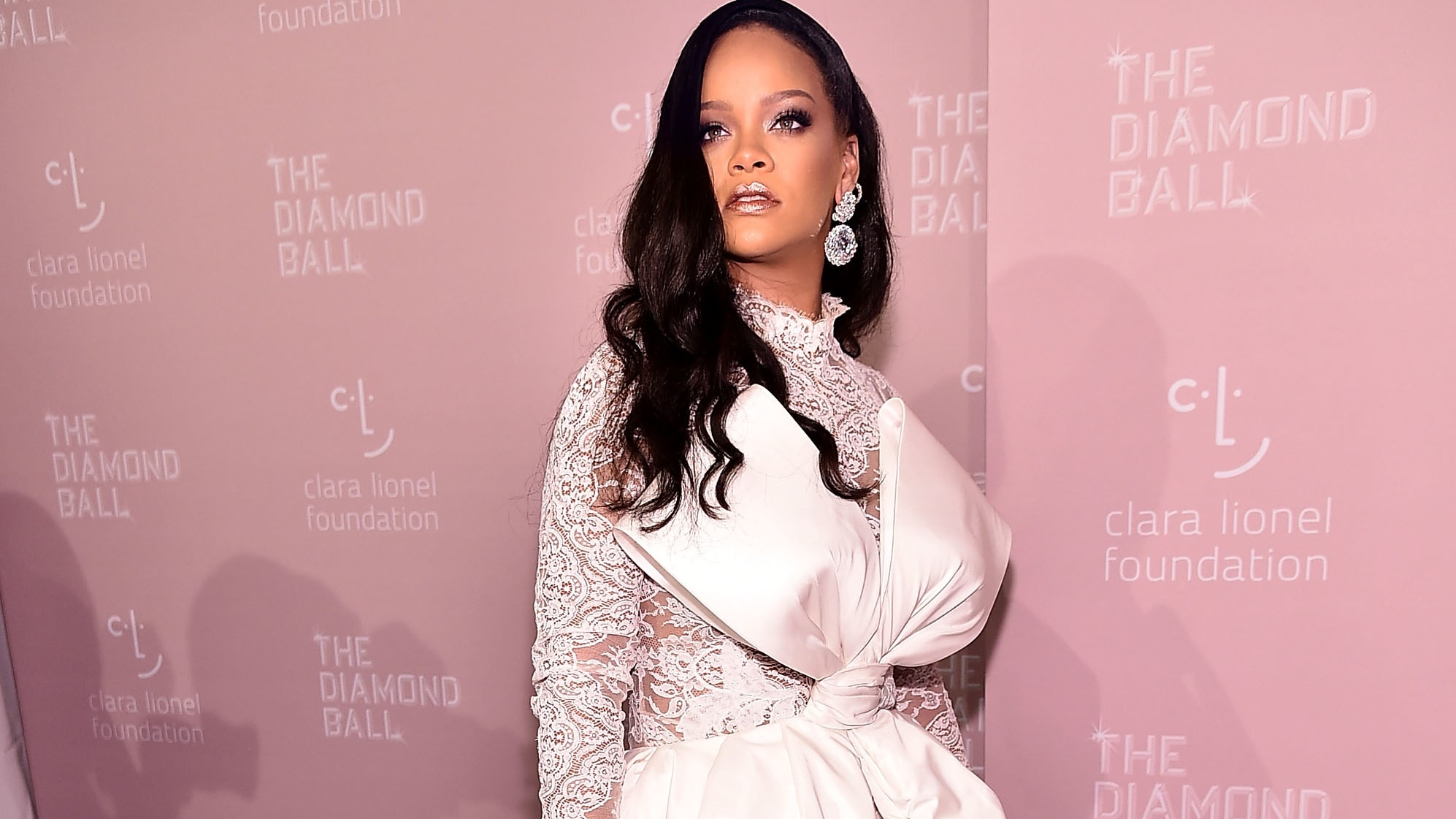 NEW YORK, NY - SEPTEMBER 13:  Rihanna attends Rihanna's 4th Annual Diamond Ball at Cipriani Wall Street on September 13, 2018 in New York City.  (Photo by Theo Wargo/Getty Images)