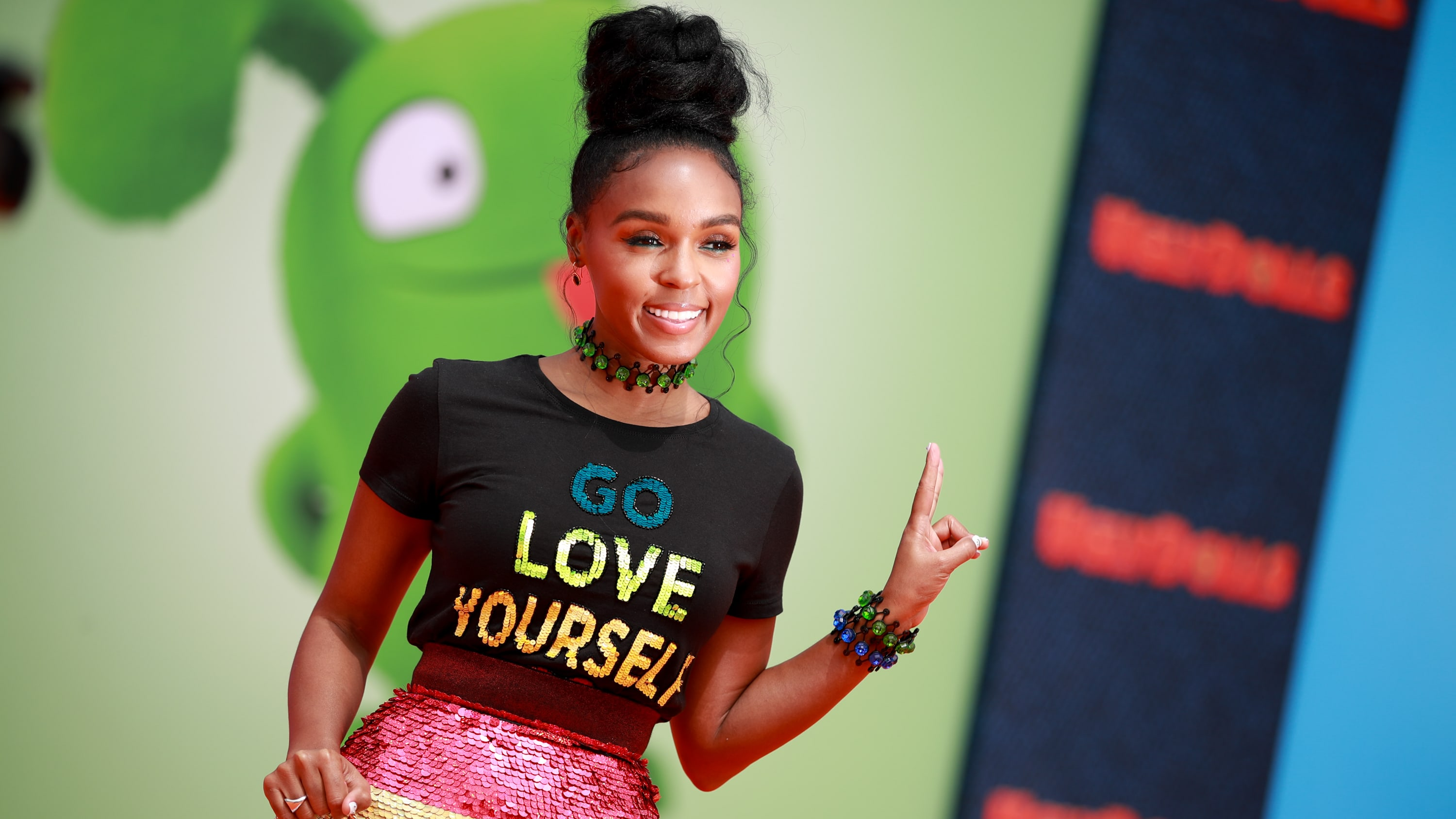"""LOS ANGELES, CALIFORNIA - APRIL 27: Janelle Monáe attends STX Films World Premiere of """"UglyDolls"""" at Regal Cinemas L.A. Live on April 27, 2019 in Los Angeles, California. (Photo by Rich Fury/Getty Images)"""