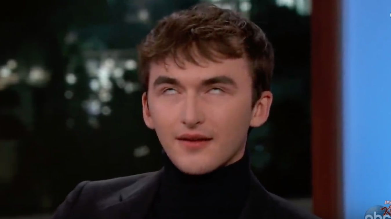 VIDEO: Isaac Hempstead Wright Explains How he Stares at People as Bran in 'Game of Thrones'