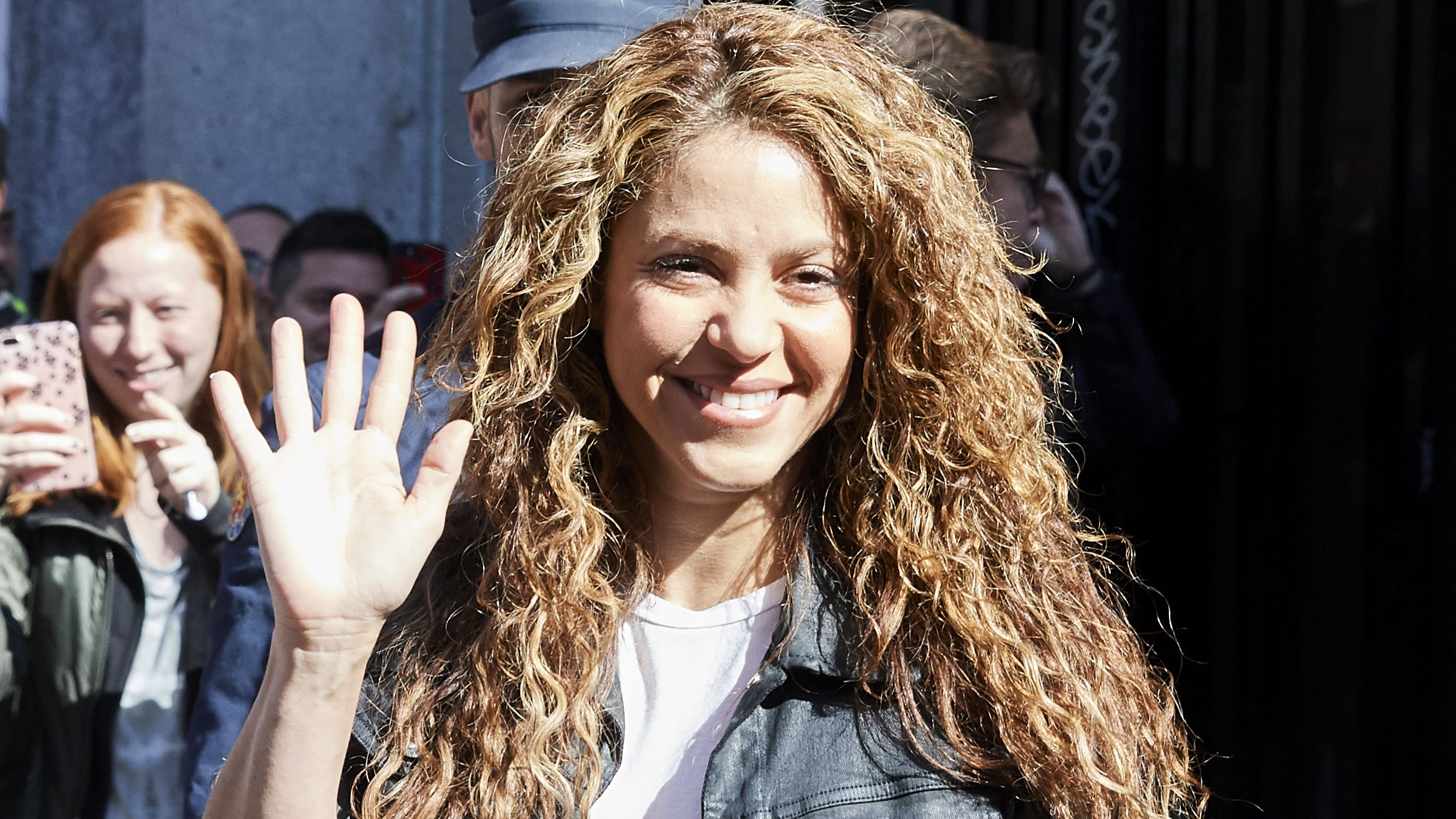 MADRID, SPAIN - MARCH 27: Shakira attends court for plagiarising the song 'La Bicicleta' on March 27, 2019 in Madrid, Spain. (Photo by Carlos Alvarez/Getty Images)