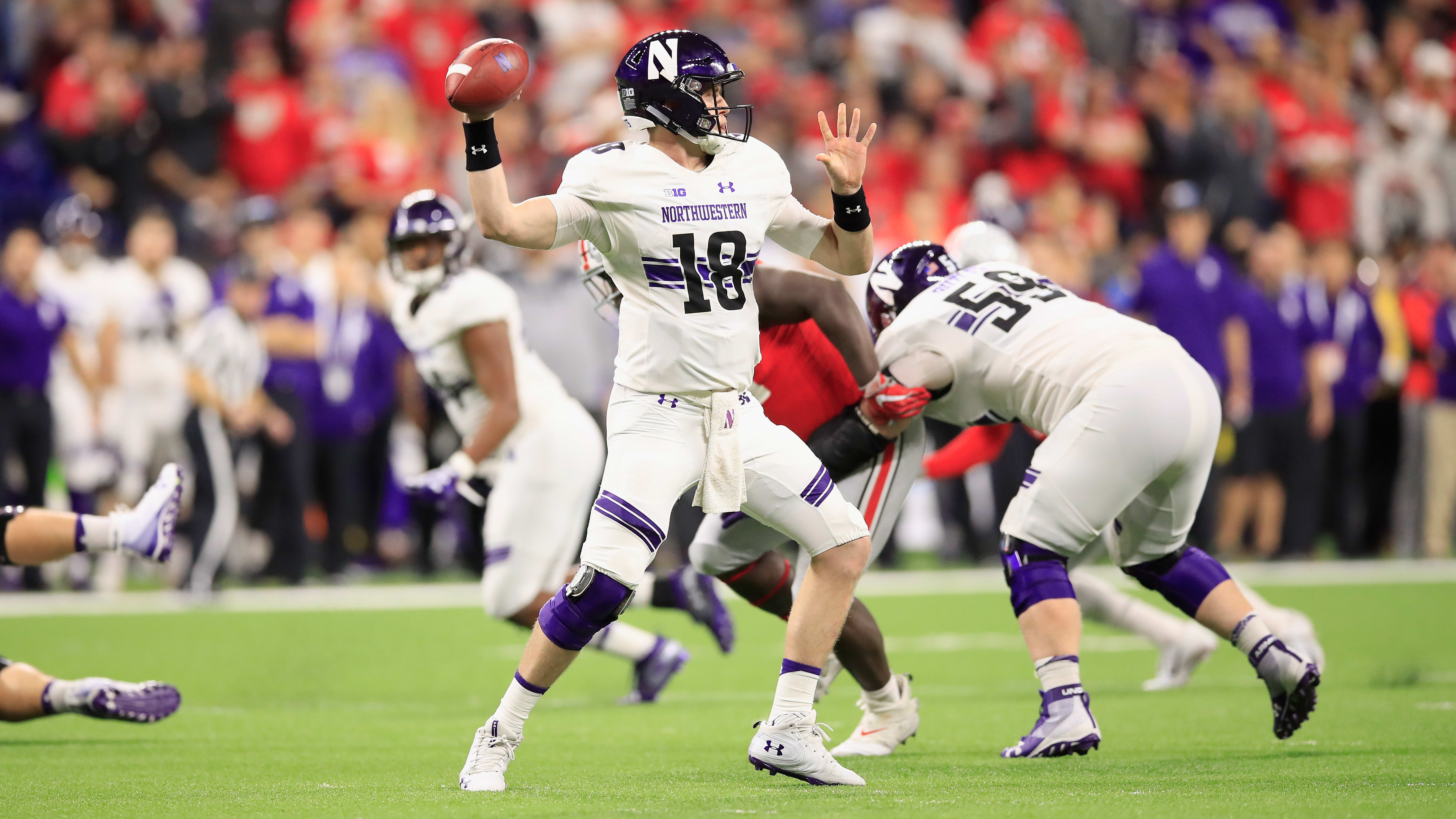Clayton Thorson NFL Scouting Report, Draft Profile and Projection