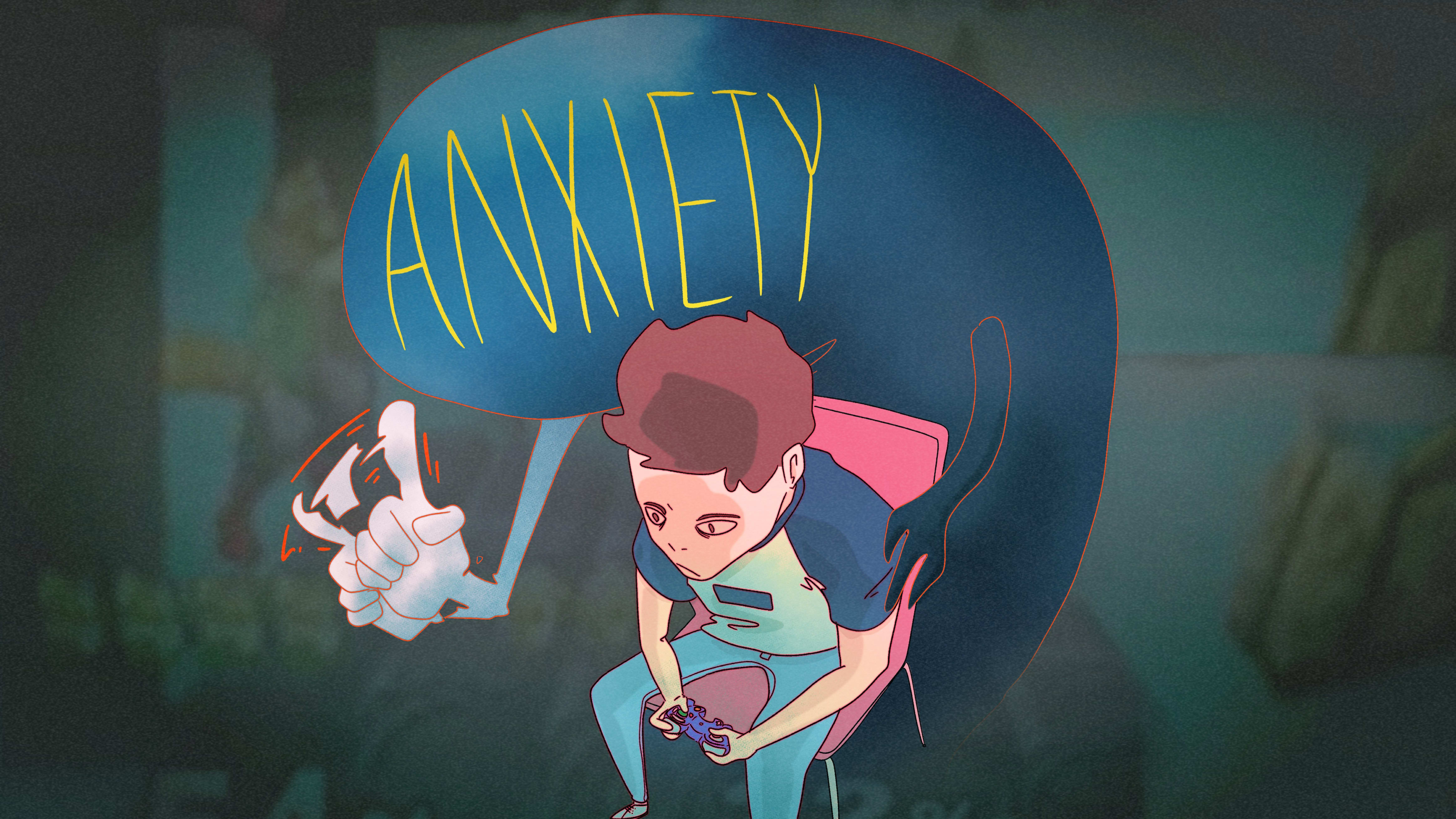 Esports Pros Often Deal with Anxiety, Depression in Public