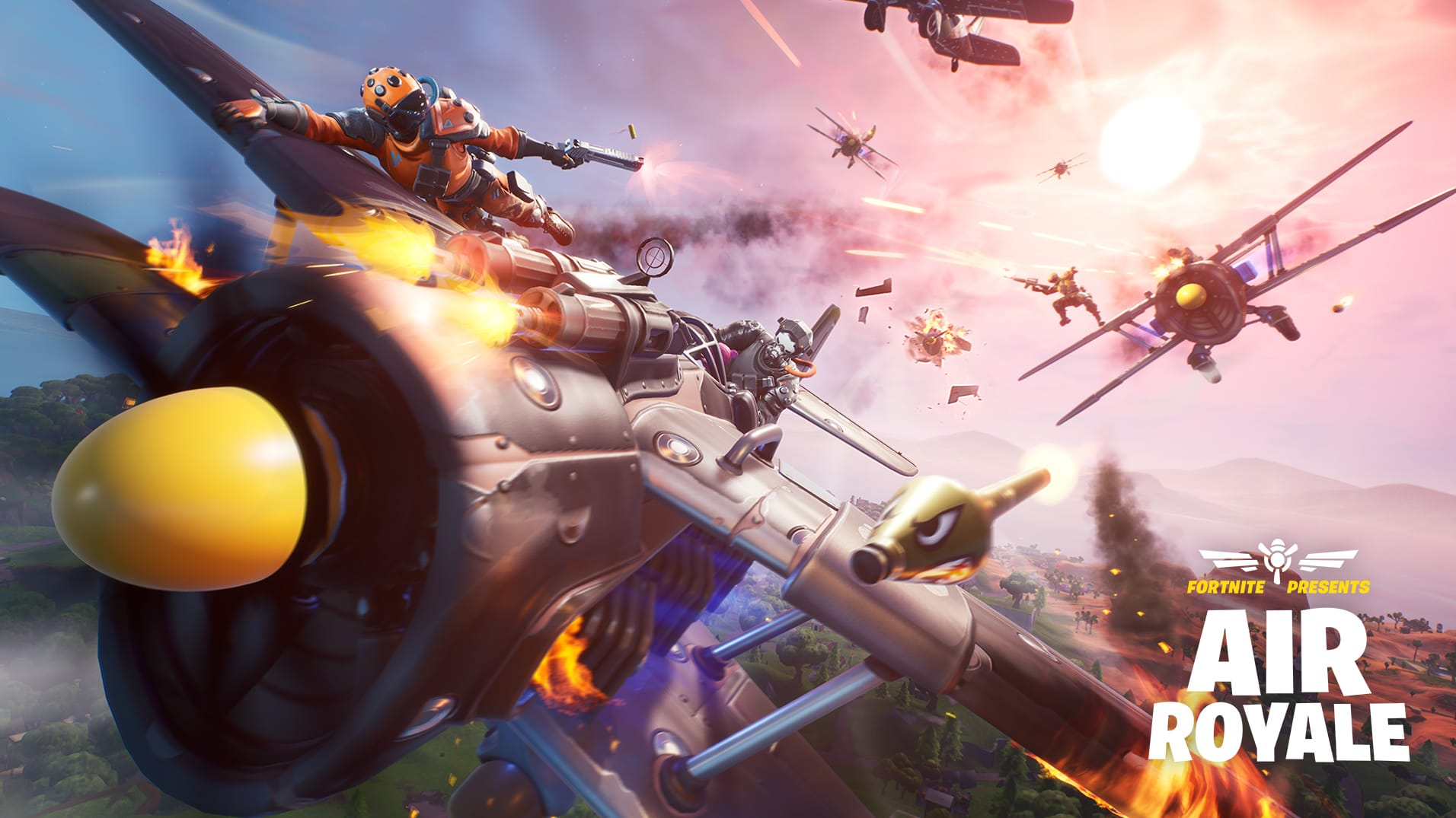 Fortnite Air Royale Limited Time Mode Added in Patch 8.40