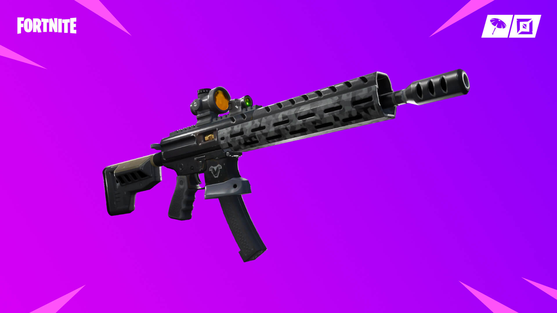 Fortnite 9.01 is here and there's a new tactical assault rifle weapon in the game