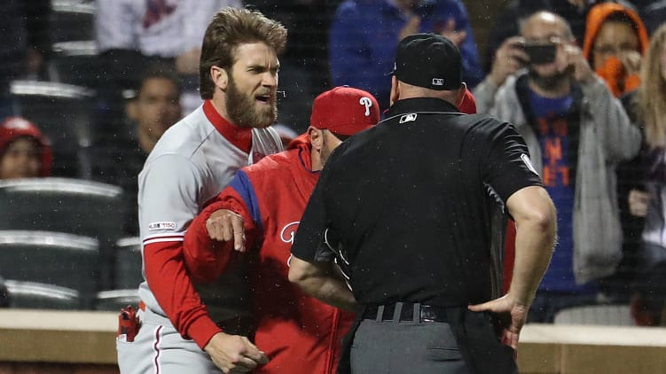 Bryce Harper Should be Suspended for Rushing Onto the Field