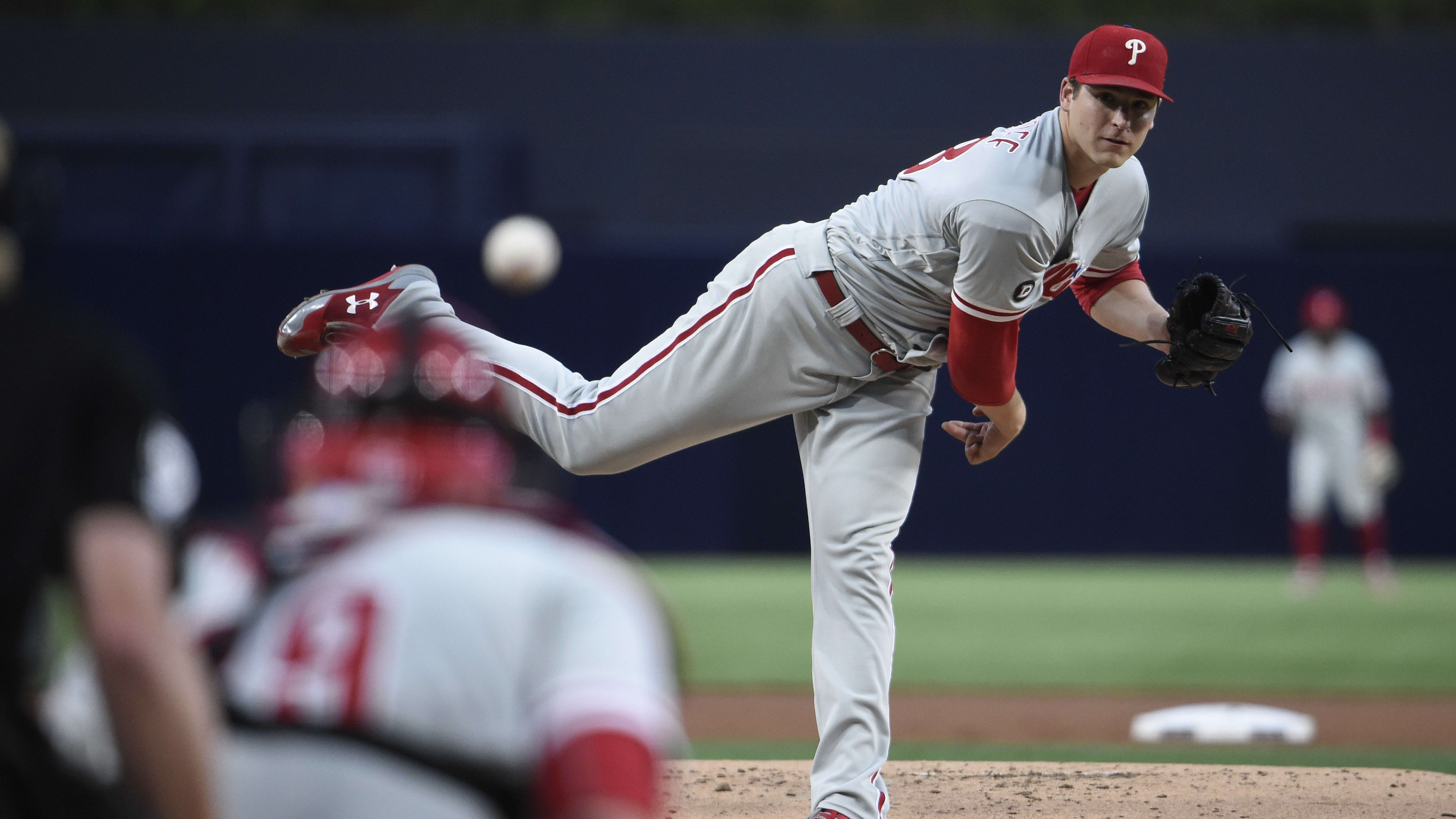 Jerad Eickhoff Now Fantasy Baseball Steamer in Phillies' Rotation After Nick Pivetta Demotion
