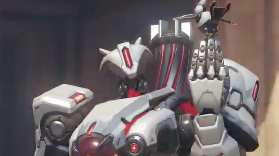Gwishin Bastion: Bastion Receives Latest Overwatch Storm Rising Skin