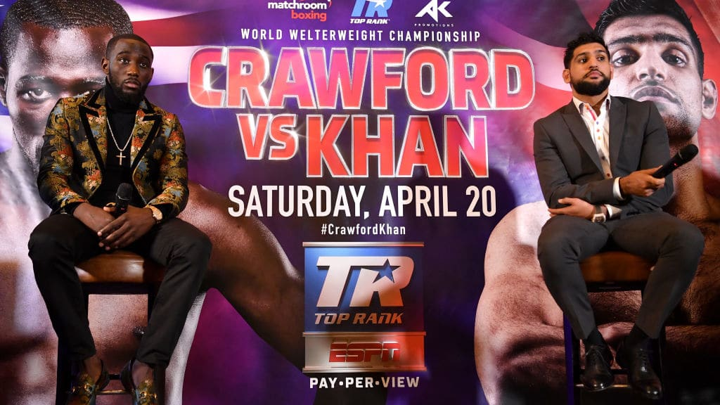 Amir Khan vs. Terence Crawford Betting Lines, Odds and Prop Bets