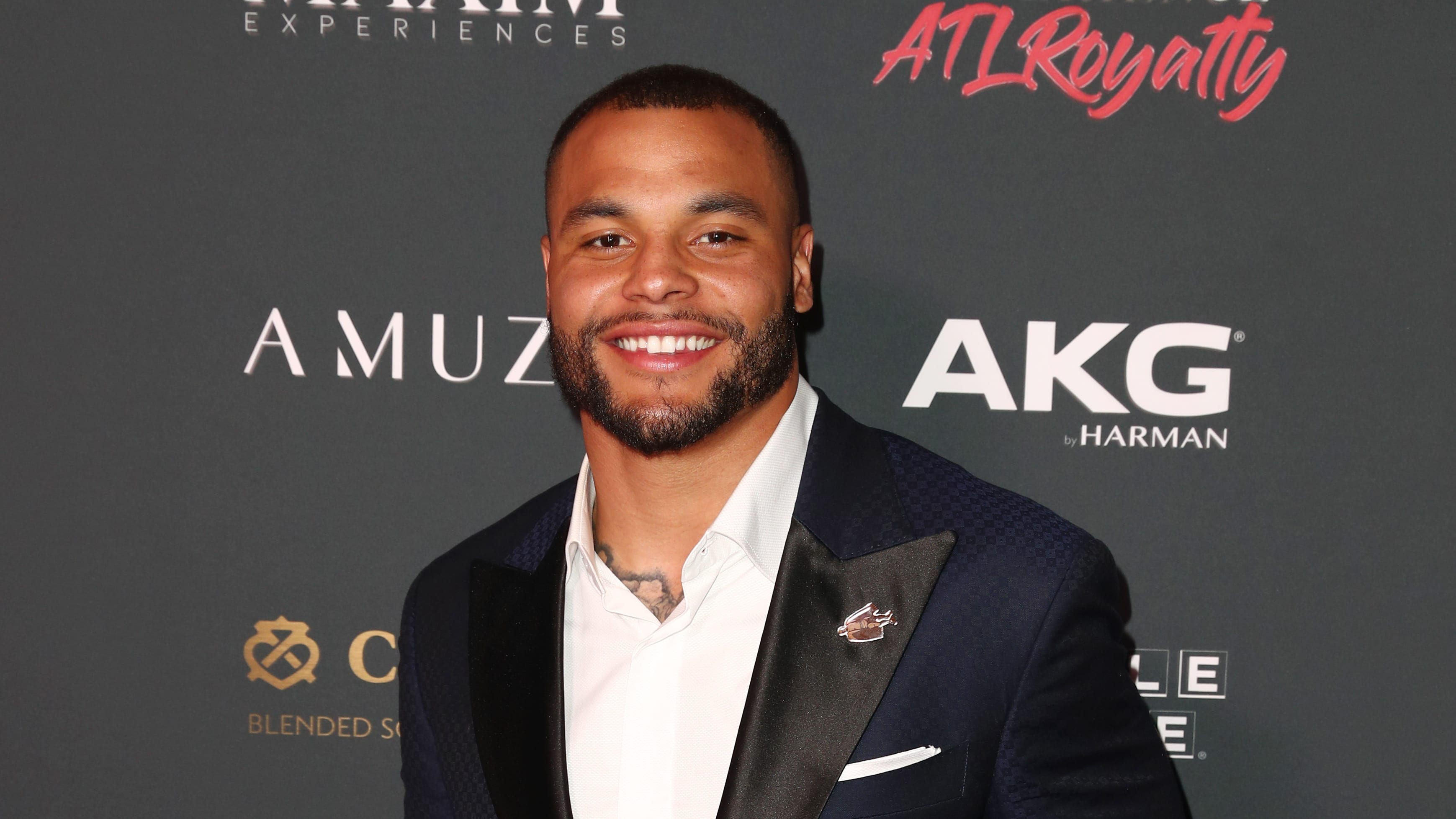 ATLANTA, GEORGIA - FEBRUARY 02: Dak Prescott attends The Maxim Big Game Experience at The Fairmont on February 02, 2019 in Atlanta, Georgia. (Photo by Joe Scarnici/Getty Images for Maxim)