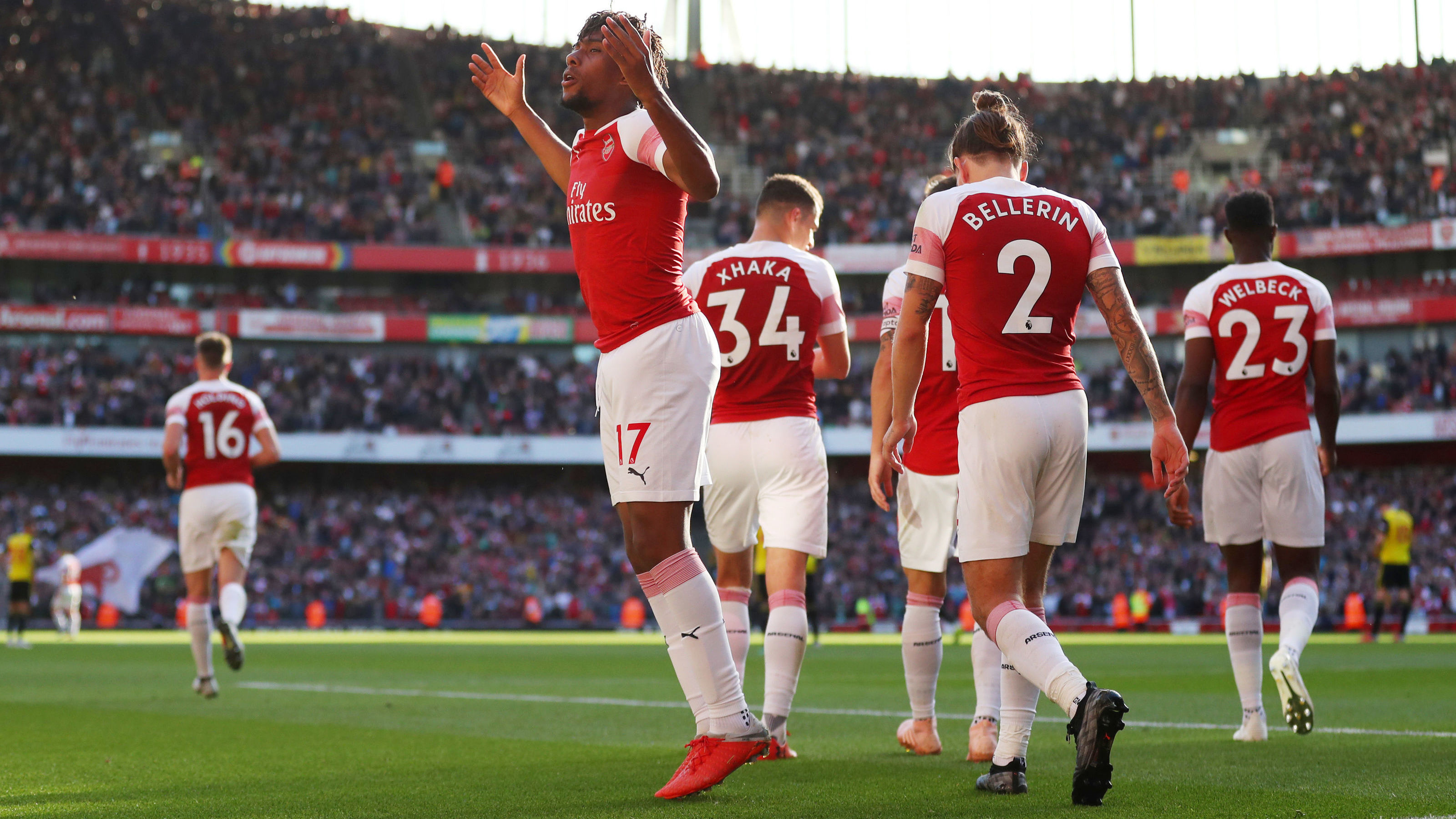 Aubameyang back for Arsenal's clash with Fulham