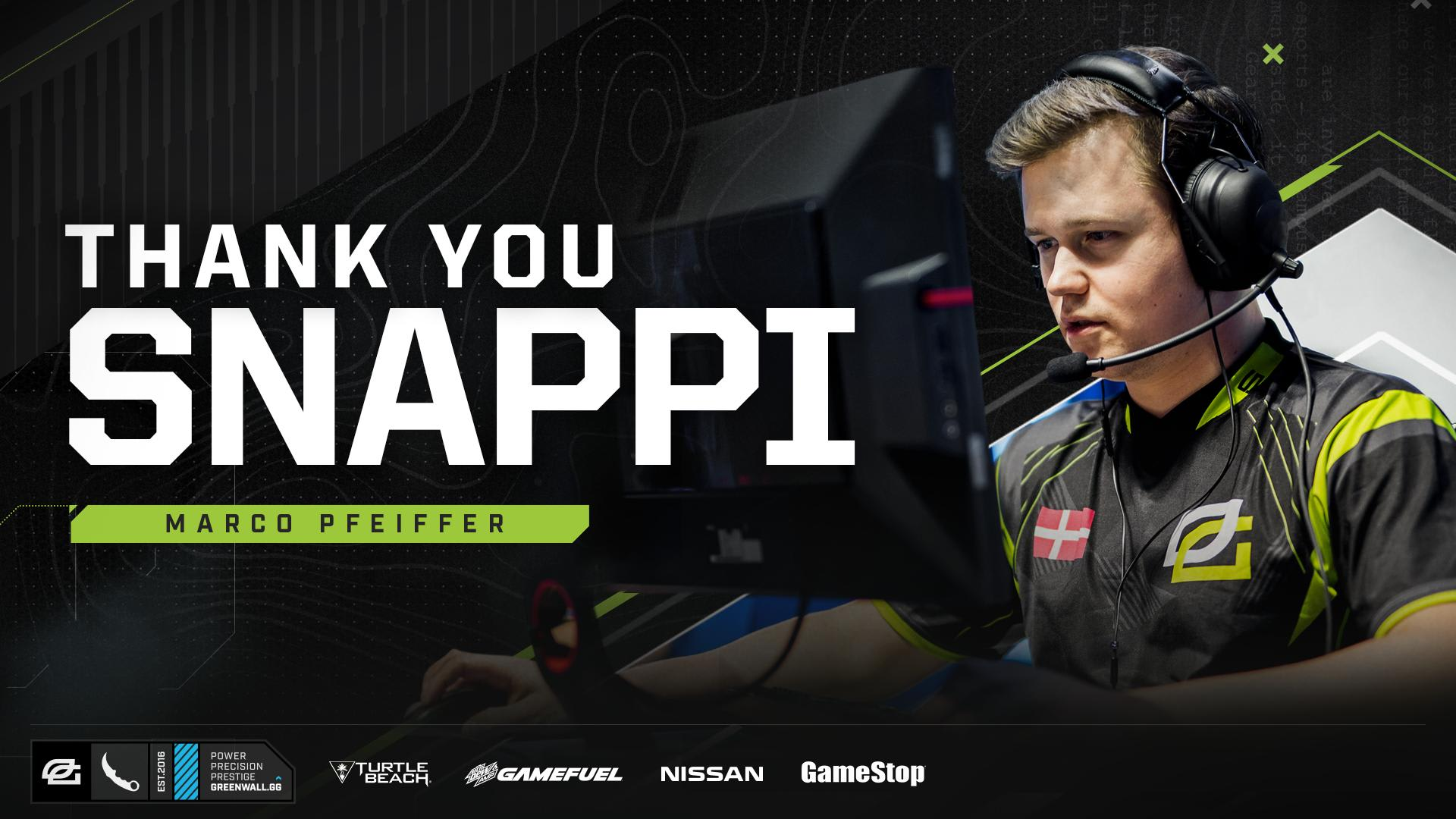 Snappi parted ways with OpTic Gaming on Tuesday.
