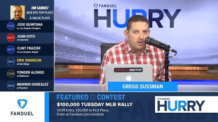 Erik Swanson Has Solid Fantasy Opportunity Against San Diego