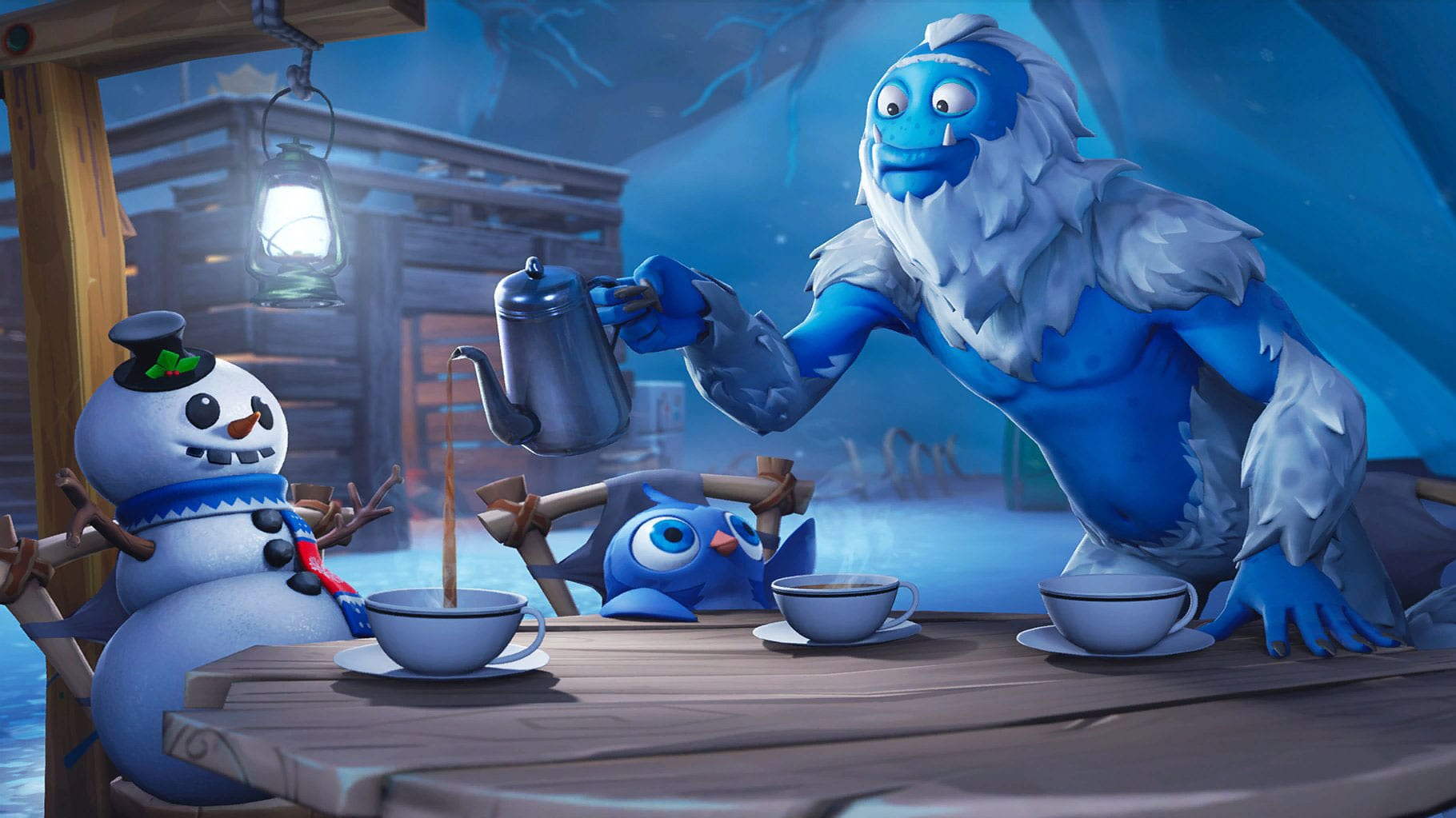 Trog's ice cave Fortnite is where to find Fortbyte 49. Here's how to get there.