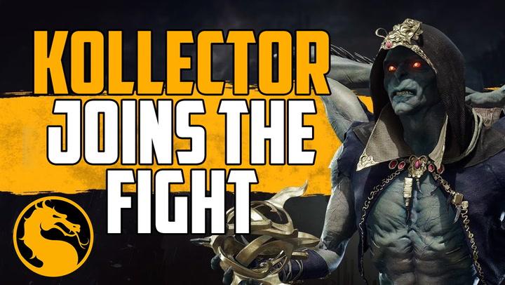 Kollector Joins Mortal Kombat 11 Character Roster