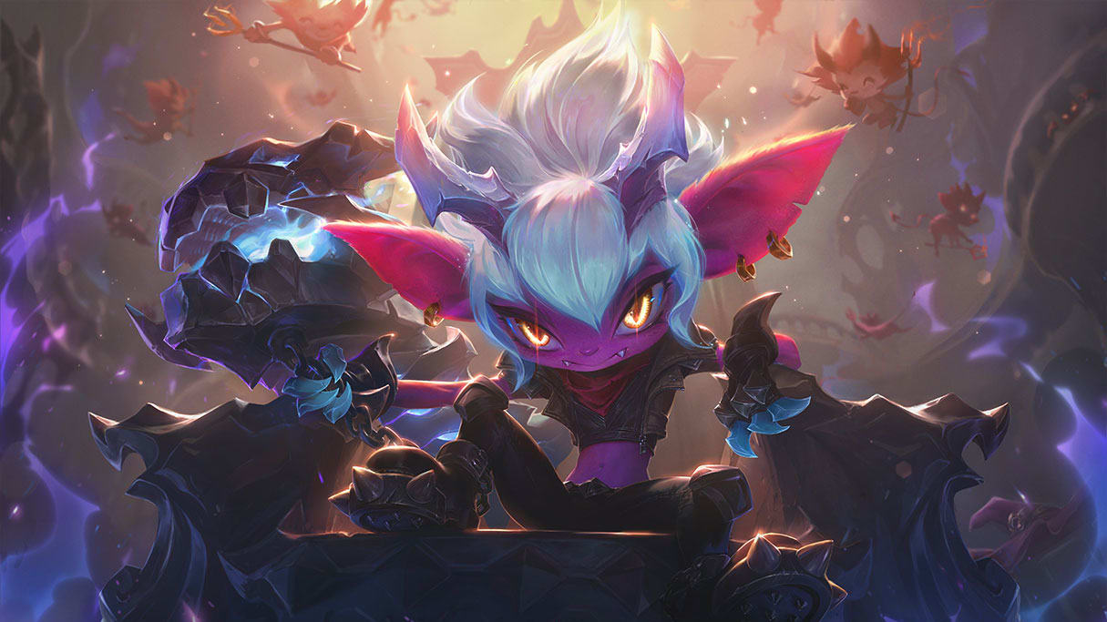 Little Demon Tristana is set to arrive in League of Legends Patch 9.11.