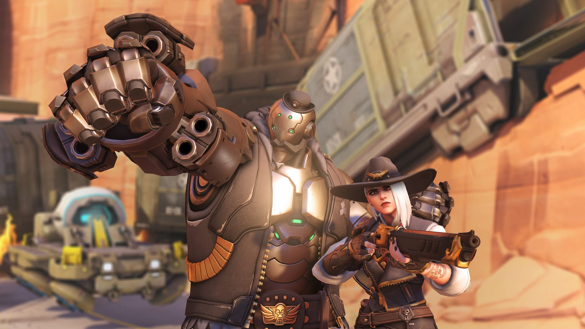 Overwatch fan Gbeast71 created a playable B.O.B. using the Workshop, sharing it to Reddit Thursday.