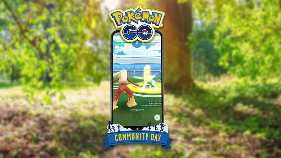 Blaze Kick Pokemon GO is a new TM players can teach Blaziken for Community Day