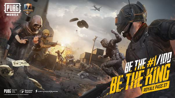 PUBG Mobile Season 7 launched Thursday.