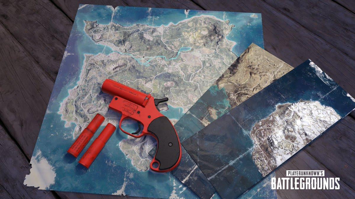 PUBG Flare Gun Locations: Best Chance to find Flare Guns in PUBG