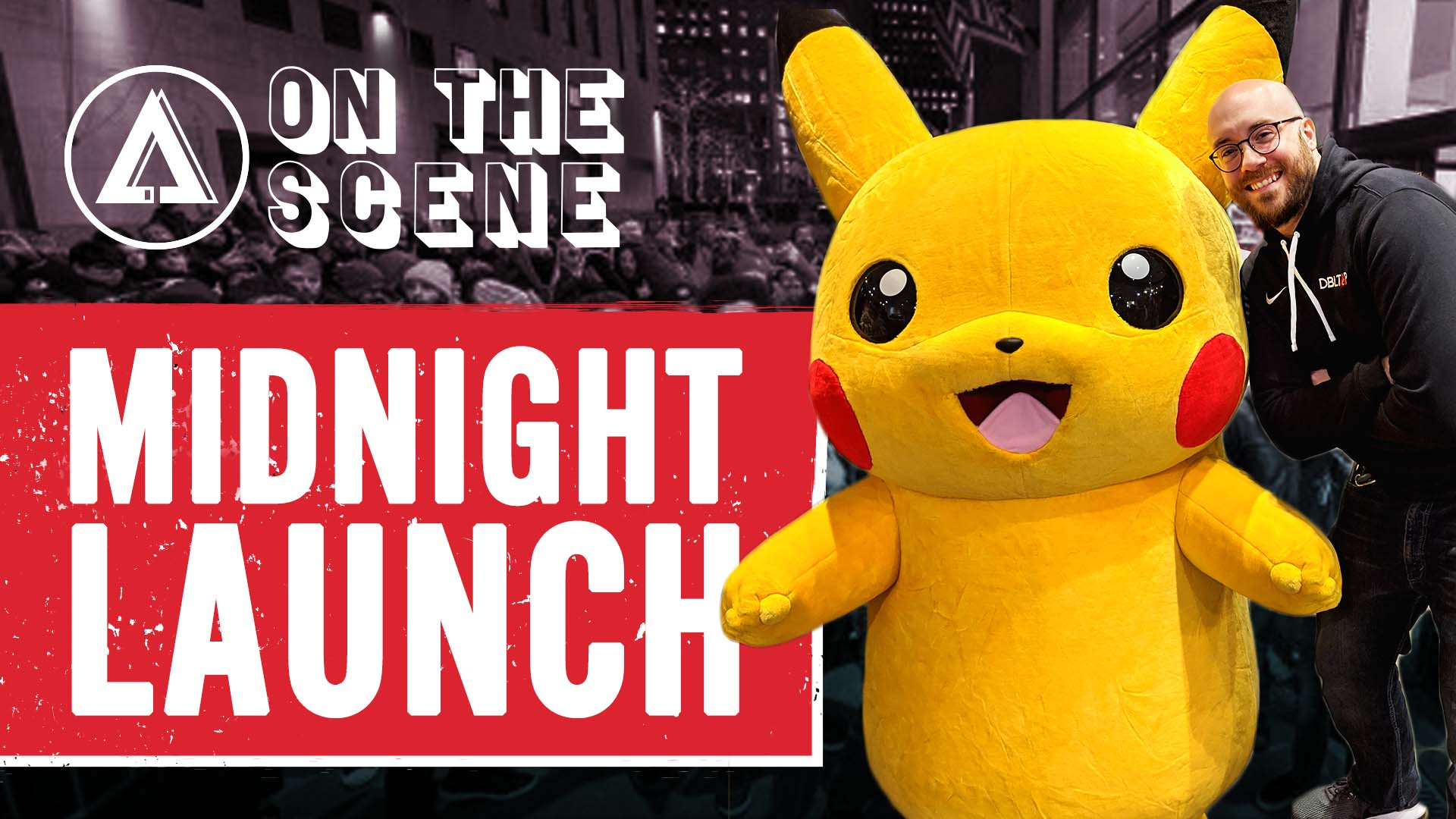 Pokemon Sword and Shield MIDNIGHT LAUNCH at Nintendo NY Store   DBLTAP On the Scene