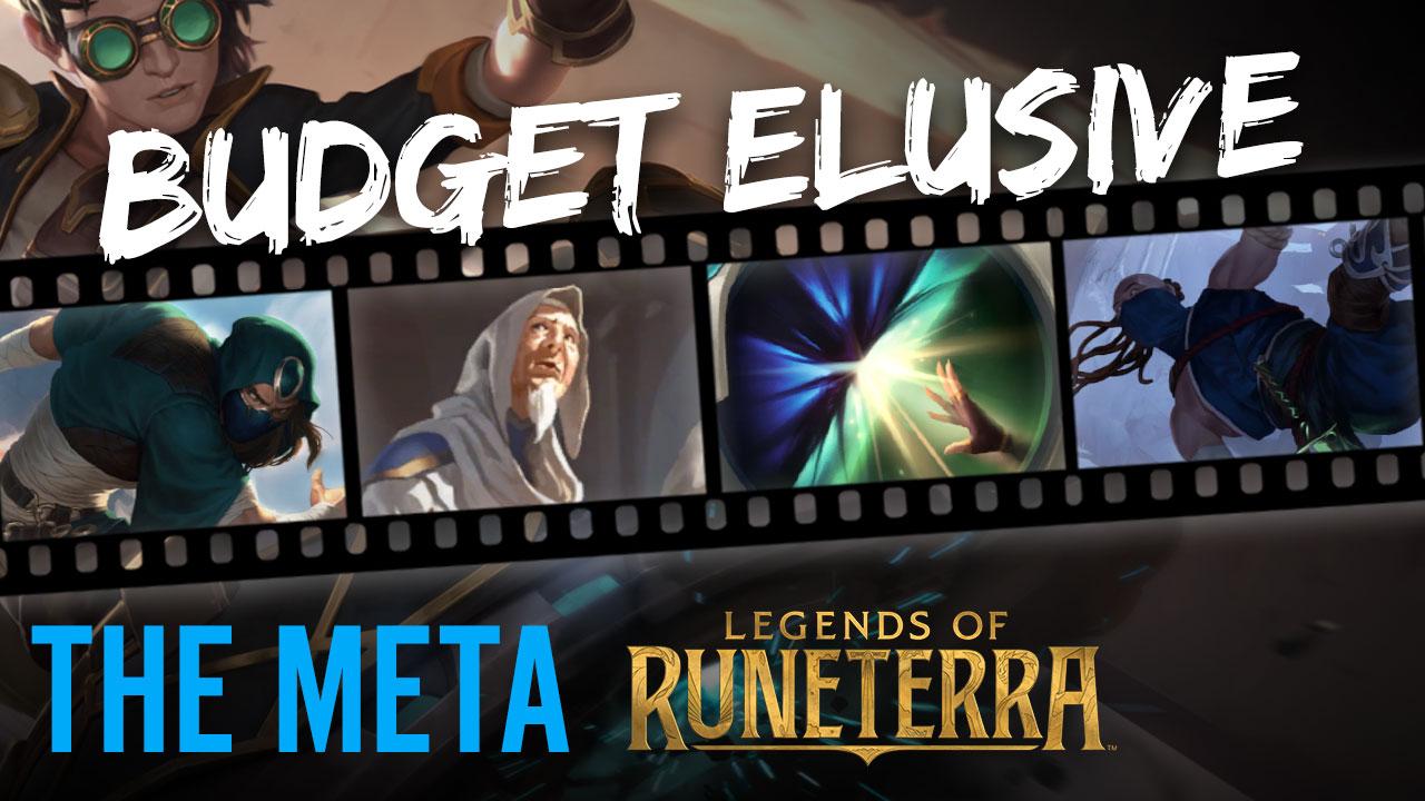 BEST BUDGET DECK: Elusive Burn - Legends of Runeterra   The Meta
