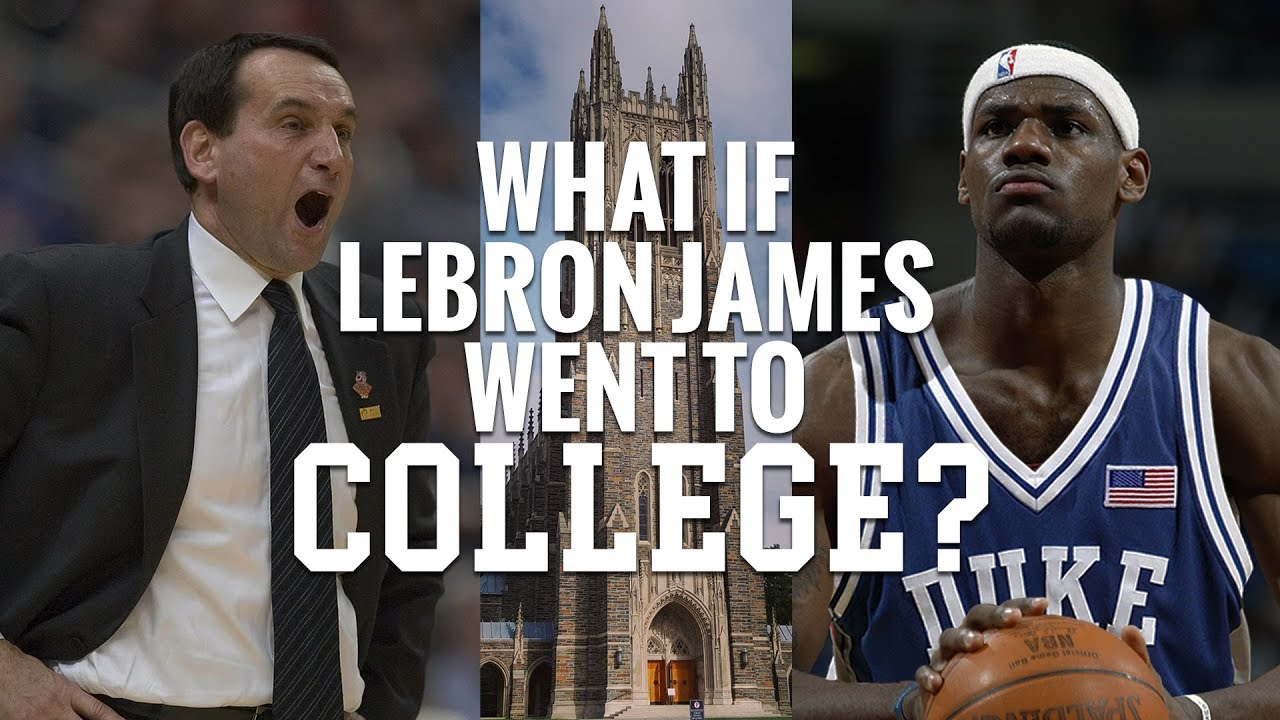 What if LeBron James Went to College