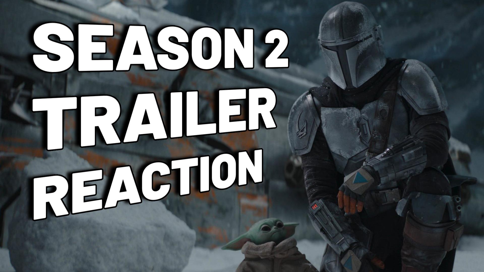 The Mandalorian season 2 trailer reaction | Take The Black LIVE