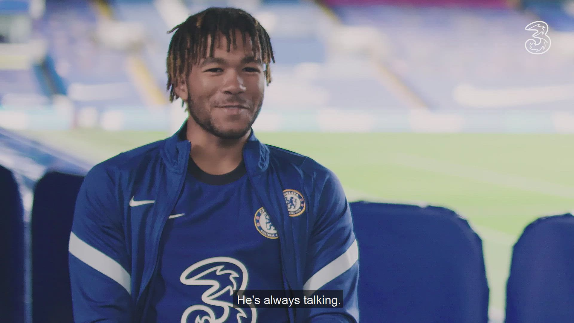 Connect With - Chelsea's Timo Werner, Reece James & Marcos Alonso